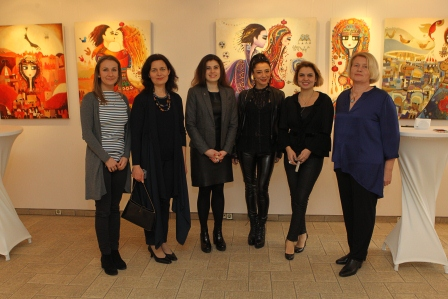 Відкриття виставки турецької художниці Джанан Бербер (Canan Berber)