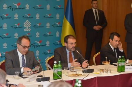 Зустріч Міністра культури й туризму Туреччини пана Махіра Унала (Mahir Ünal) із видатними науковцями України