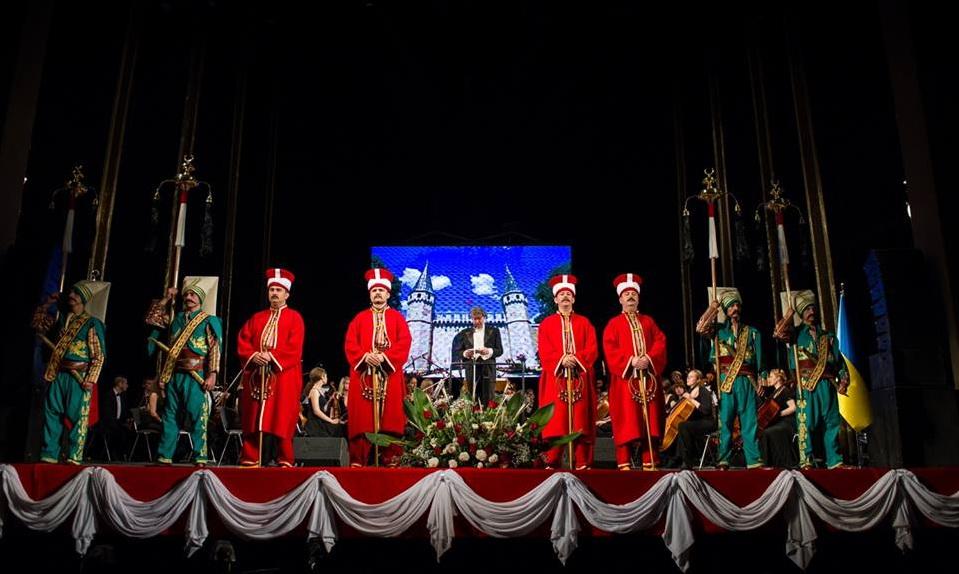 Європейська музика в Османському палаці