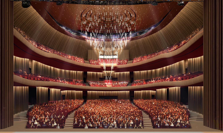 """В районі Таксім триває будівництво """"Стамбульського Оперного театру"""", який має стати одним із символів Стамбула"""
